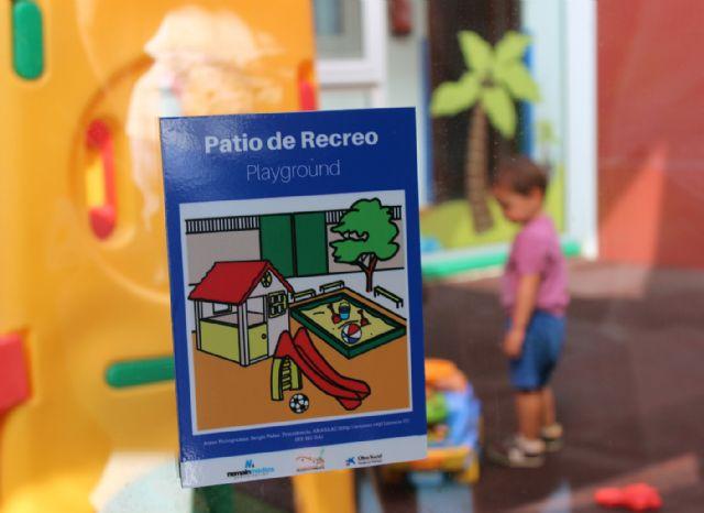 Nemain fabrica la señalización para el Ayuntamiento de Puerto Lumbreras con pictogramas de ARASAAC
