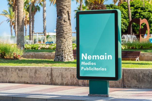 soportes de exterior Nemain