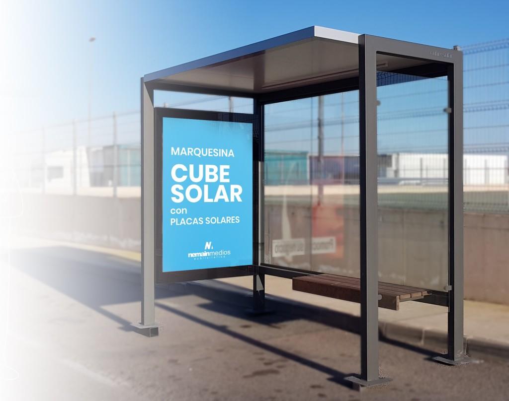 Marquesina Cube Solar Nemain