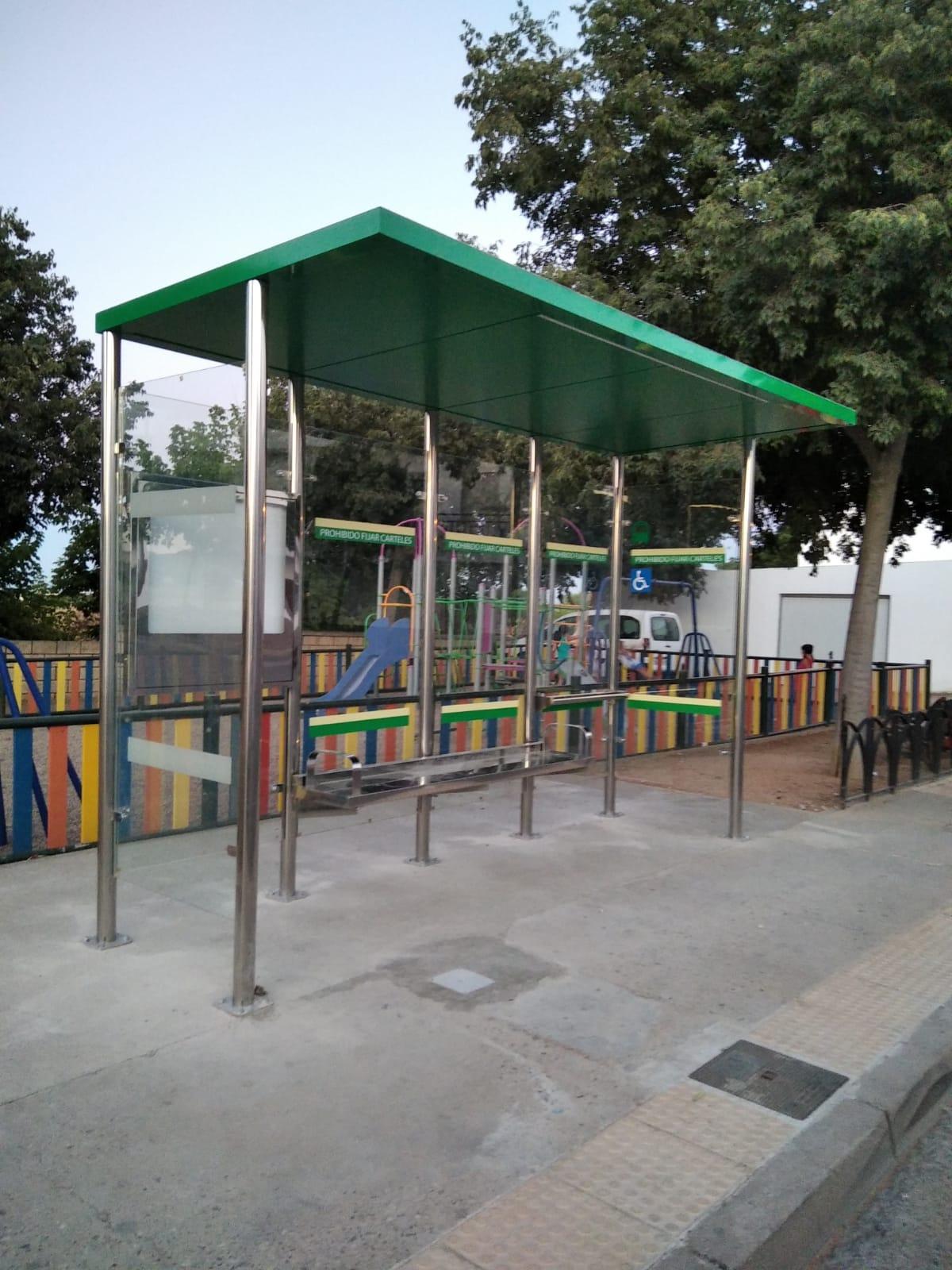 Marquesina refugio modelo CONS 2